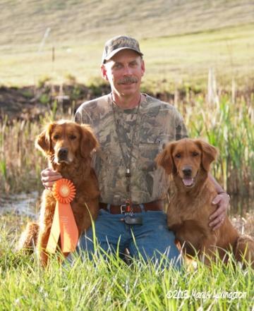 akc rossette, hunting test, retrievers, senior hunter
