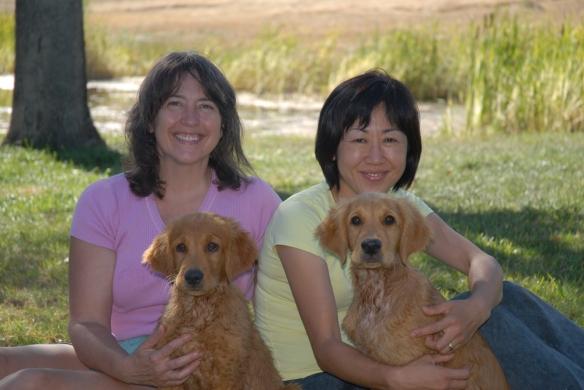 Hawk and Saku with Noriko and Mary