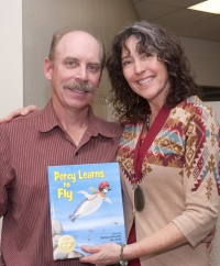 I couldn't have illustrated Percy Learns to Fly without loving support from my wonderful husband, Tim, The Forester Artist.