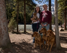We stopped at the Gallatin River for a family shot on our way to the west side of Yellowstone while heading home.
